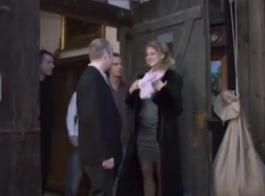 جبهة مورو أنيق مع كبير الثدي، أليكسيس بريل لديه حلقها مارس الجنس في فترة ما بعد الظهر، بواسطة مايك.