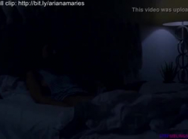 يعرف أريانا ماري كيفية إرضاء حبيبها، بينما يراقبه في عمل مع جار.