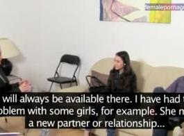 امرأة سمراء الأوروبية تحصل مارس الجنس في متجر خلال مقابلة وظيفية وتئن من المتعة أثناء كومينغ