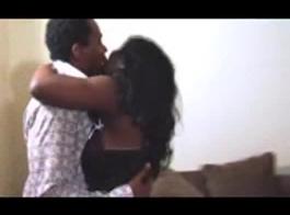 اثنين زوجين الأفارقة مفلس